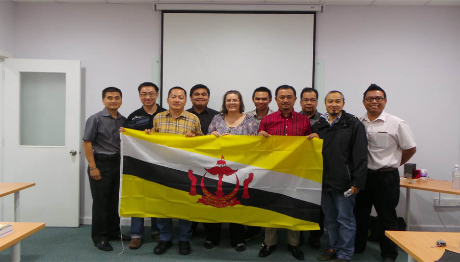 KBAT, First NEBOSH Diploma class in Brunei with our new Partner Ashcore