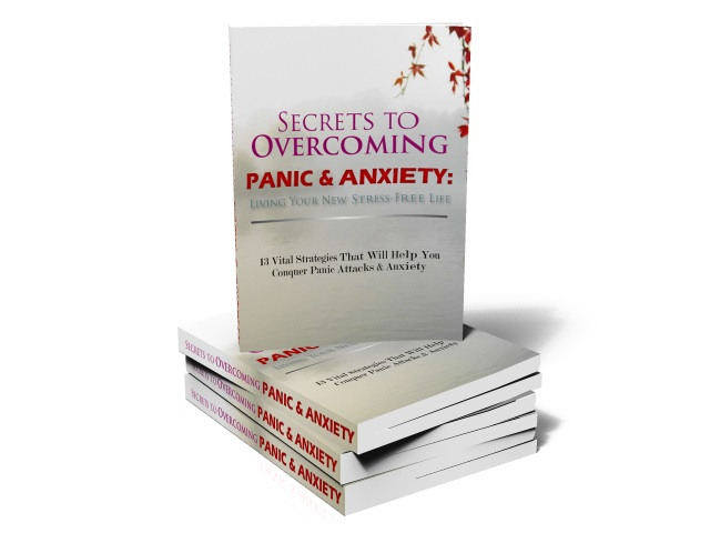 """Ken A. Powell's """"Secrets To Overcoming Panic & Anxiety"""" Guide"""