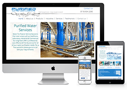 Purified Water Services New Mobile Responsive Website