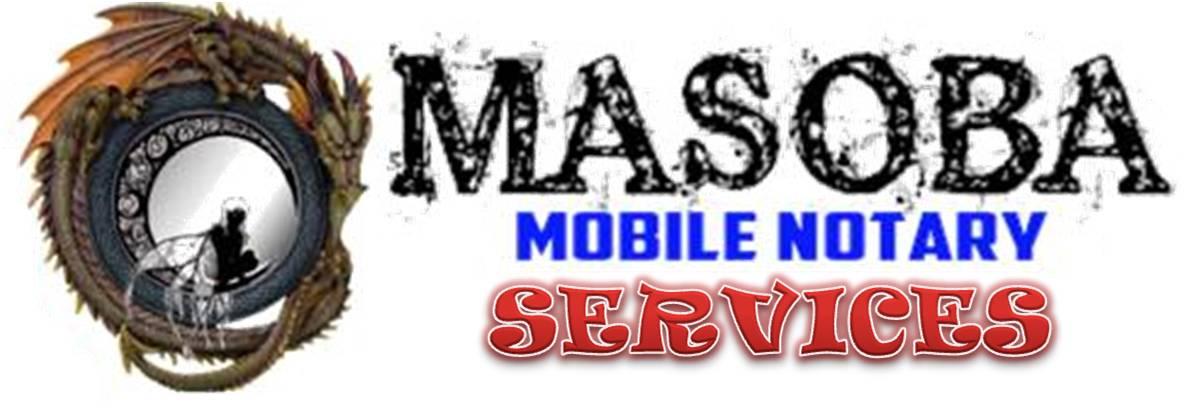 Masoba Mobile Notary Service