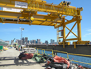 Capco Crane Rebuild of Longfellow Bridge