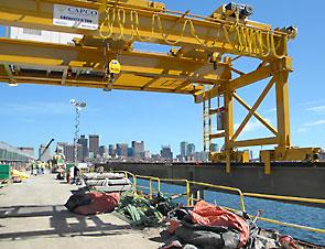 Capco Crane Rebuild of Longfellow Bridge