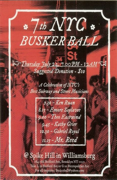 The 7th NYC Busker Ball
