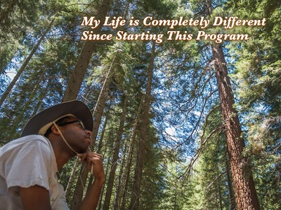 """My life is completely different since starting this program."""