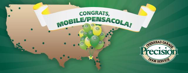 Precision Door Service Mobile-Pensacola