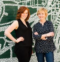 """Anais & Stephanie """"Stevie"""", Co-Founders of Mila & Felt, LLC"""