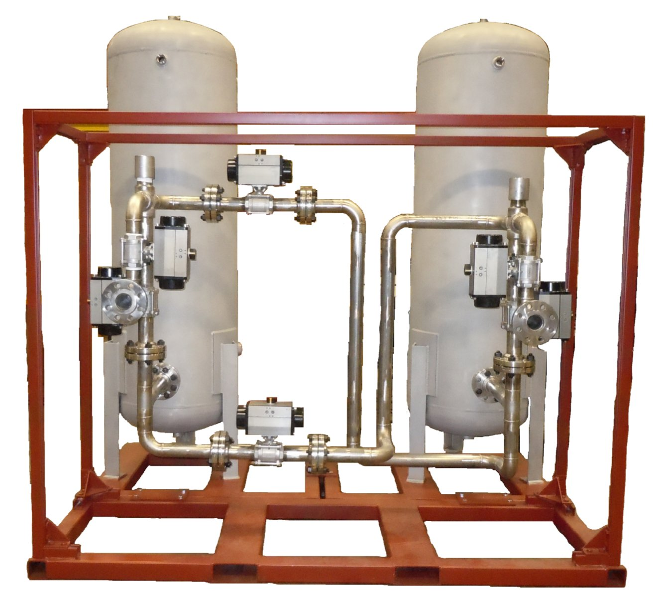 ASME Pressure Vessel Skid Assembly