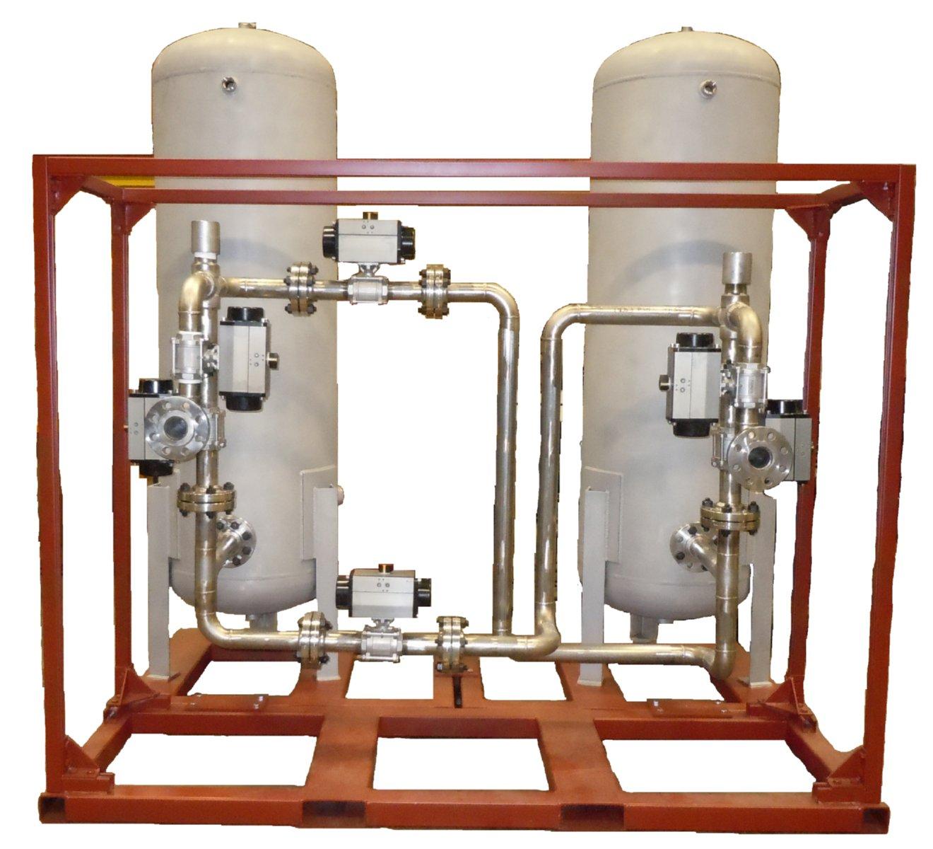 ASME Pressure Vessel Skid Assembly
