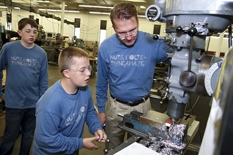 Learning to operate machine shop equipment
