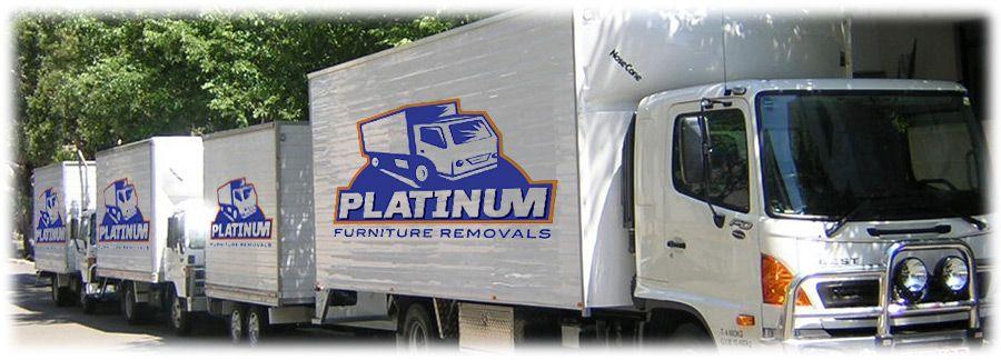 platinum-furniture-removalists-brisbane-trucks