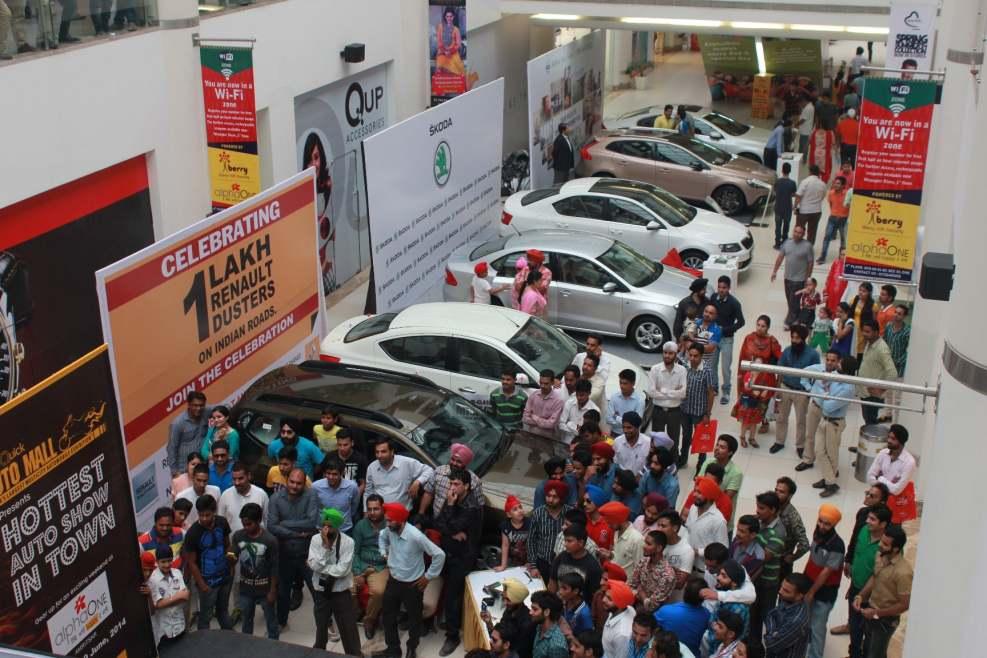 Auto Fest at AlphaOne, Amritsar