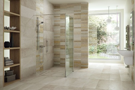 Trendy Wet Rooms from Innovate Building Solutions