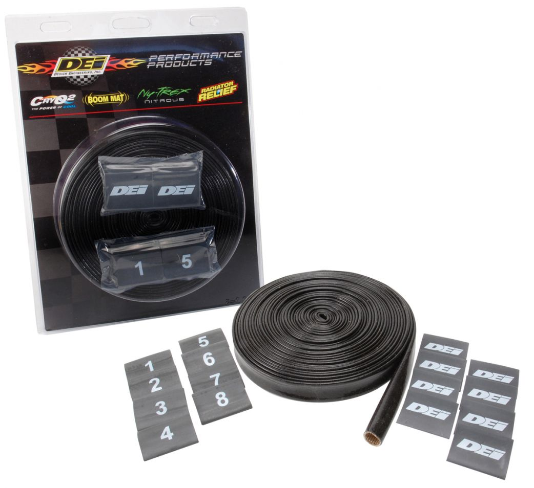 DEI Silicone Protect-A-Wire Kit protects High Voltage ignition wires