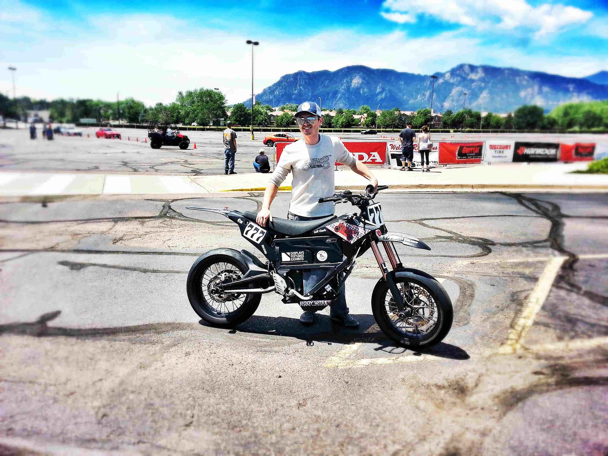 Jeff Clark Passes Race Inspection at PPIHC