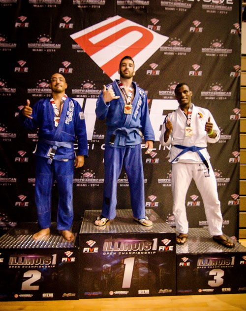 Johnny Boswell Wins FIVE Grappling Illinois 1 Blue Belt Division