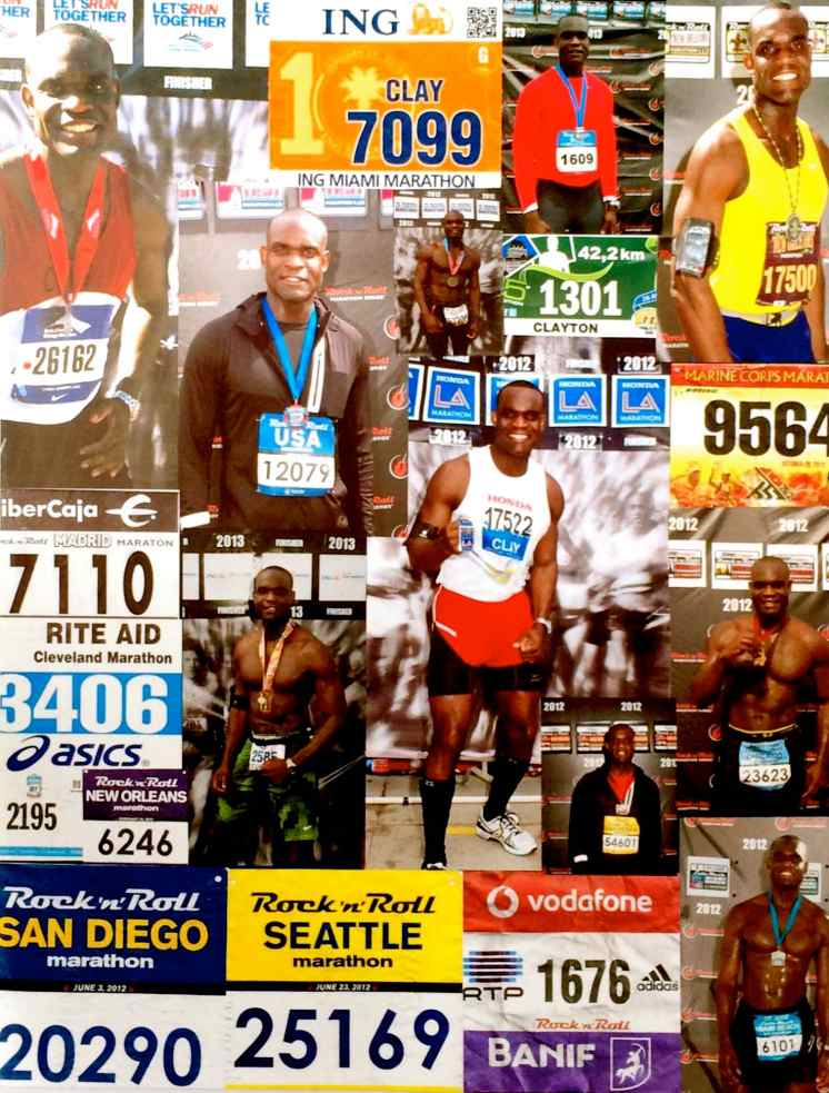 Dr. Clayton Lawrence has eclipsed the 6,000 mile marker in marathon running.