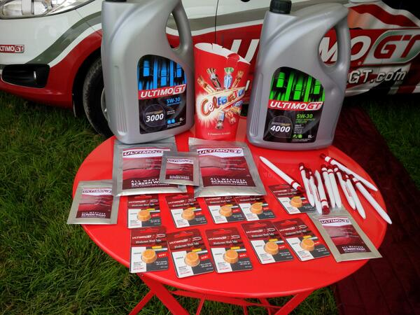 A Selection of the Ultimo GT Screenwash Range