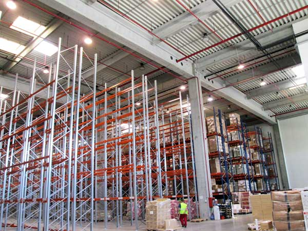 Tibbett Logistics' new retail imports warehouse receives its first stock
