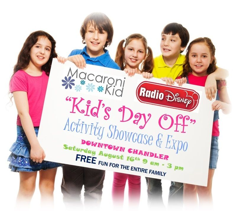 Kids Day Off Activity Showcase and Expo
