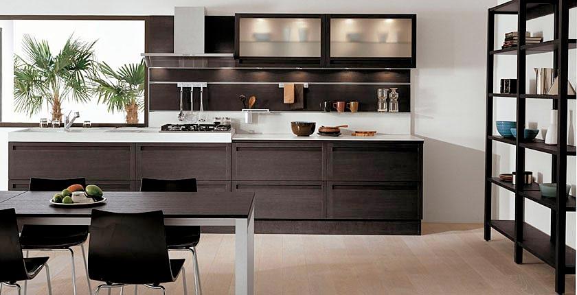 Oak Wood kitchen design