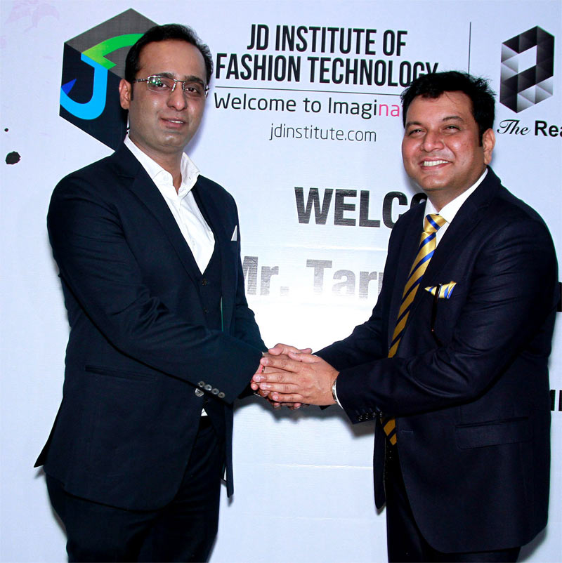 Mr. Tarun Shienh turns Mentor for Interior Design Student of JD Institute
