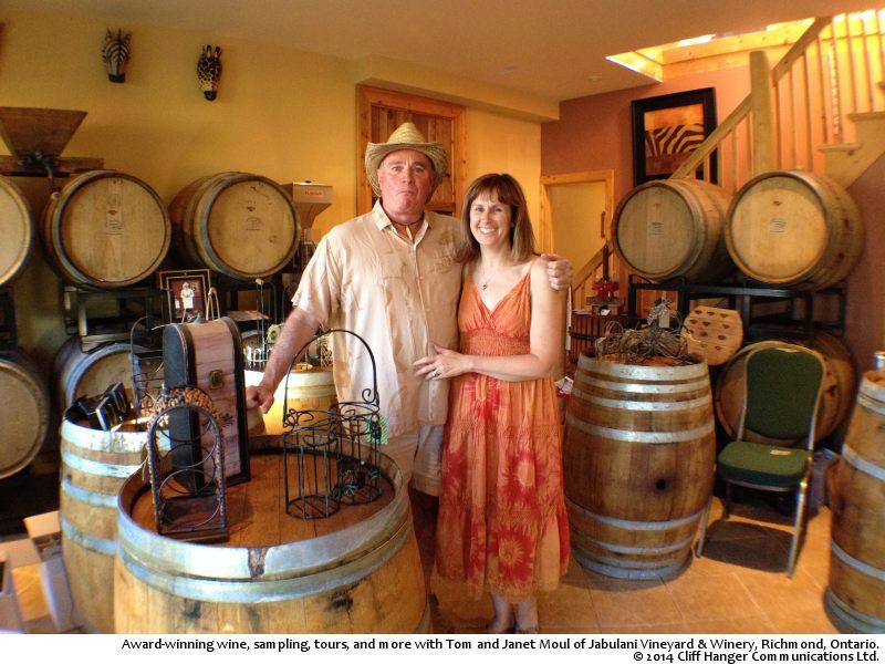 Jabulani Vineyard & Winery, photo © 2014 Cliff Hanger Communications Ltd.