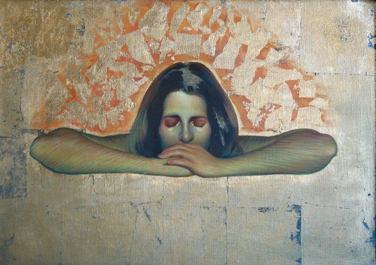Nicole Alger - Oil Painting - prayer