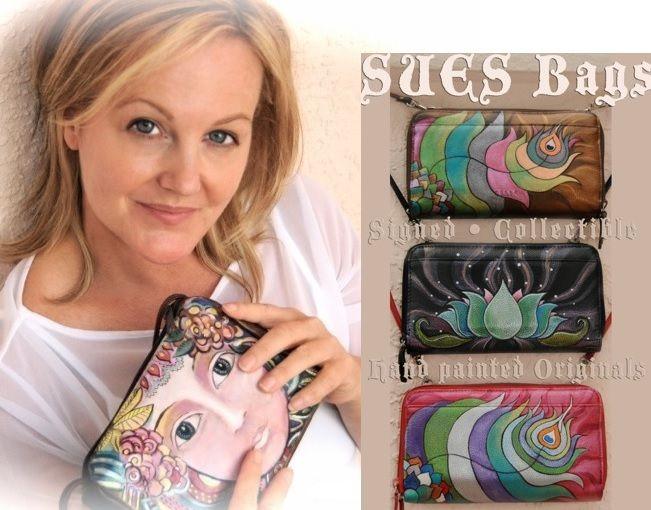 Sue Sweeney and Her Handbags