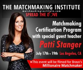 Guest Teacher Patti Stanger, The Millionaire Matchmaker