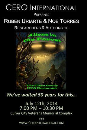 Authors to Speak on July 12, 2014