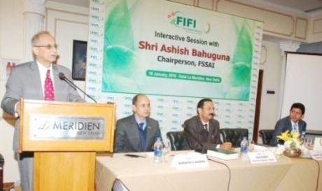 FSSAI Chairperson with Amit Lohani , Bimal Kumar Dubey
