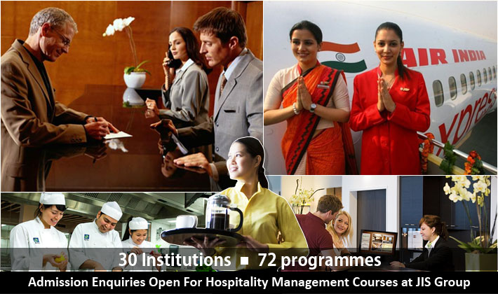 Admission Enquiries for Hospitality Management Courses