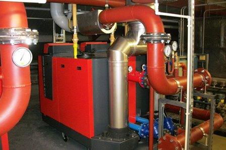 Castlewood boiler plant room