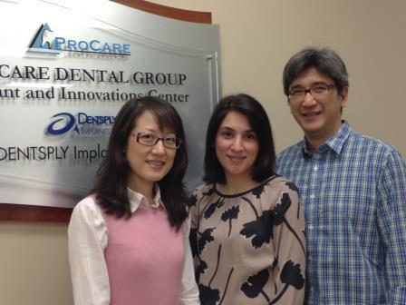 Drs. Yuan, Afshari, and Sukotjo.