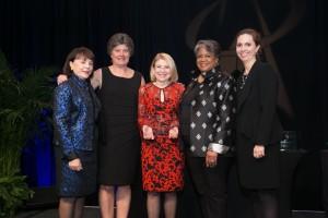 Valerie Freeman Receiving Award for Anserteam