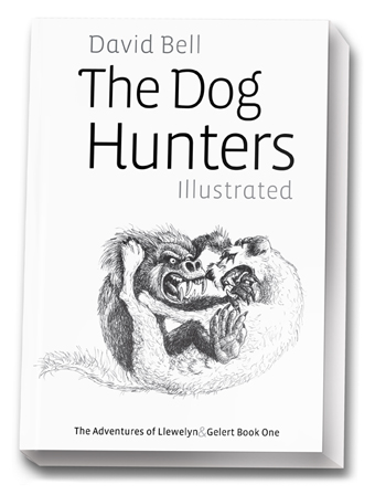 The Dog Hunters Illustrated- eight months in the wristing