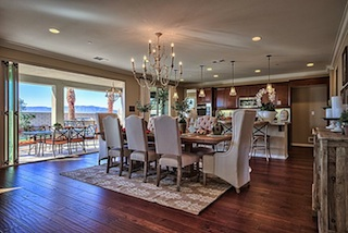 Dining and Kitchen Areas For Estancia East