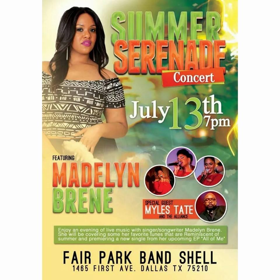 The Summer Serenade by Ms. Madelyn Brené