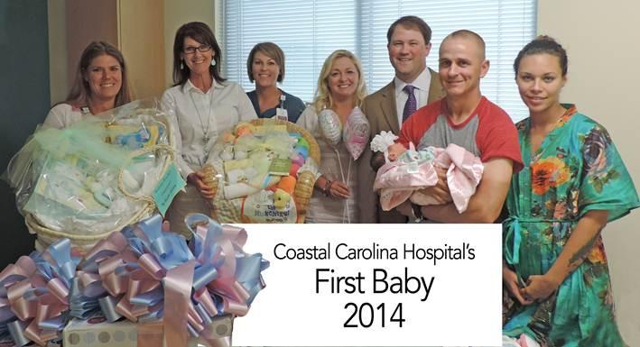 NRAM Helps Welcome the First Baby Born at Coastal Carolina Hospital!