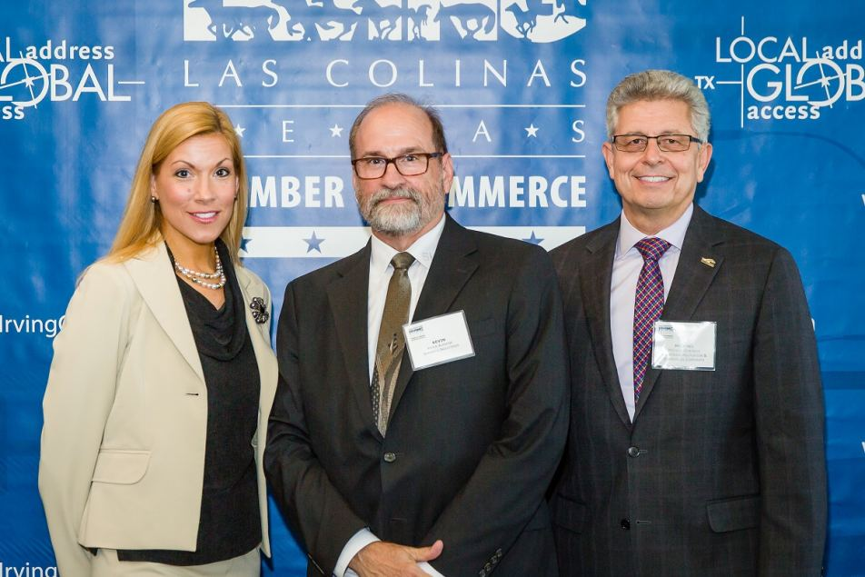 Irving Mayor Beth Van Duyne, Kevin Alewine, Shermco, & Michael Gonzales