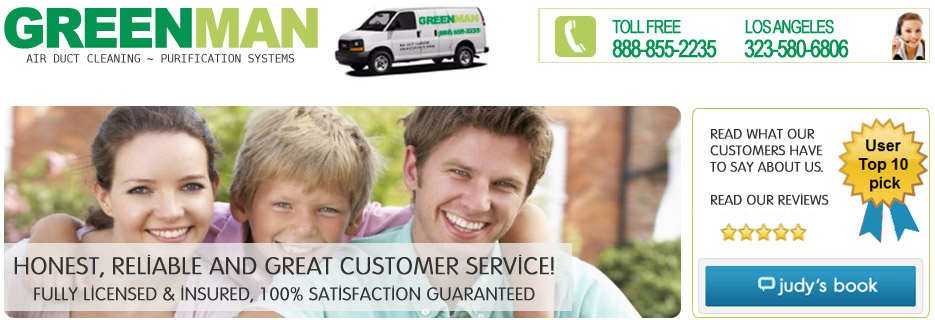 Greenman air duct cleaning company
