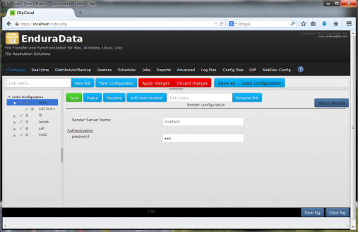 EnduraData EDpCloud file sync and replication software