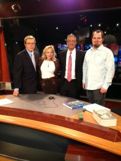 American Electrical on the set ofMoving America Forward