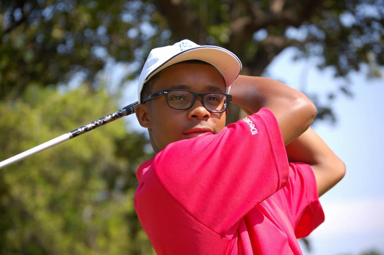 Golfer Nicholas Narcisse