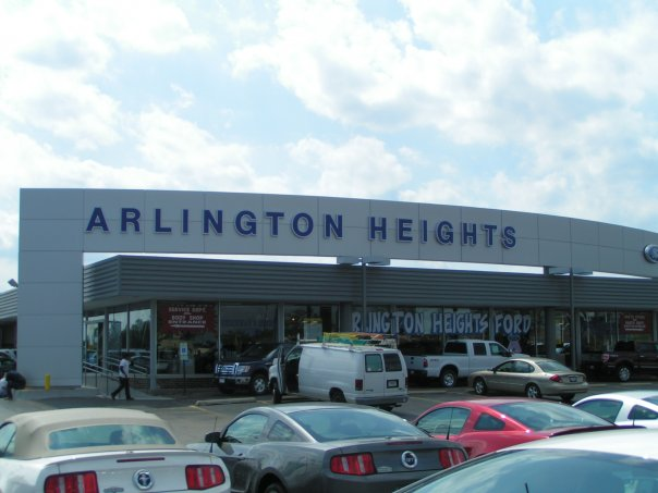 Find your next vehicle at Arlington Heights Ford