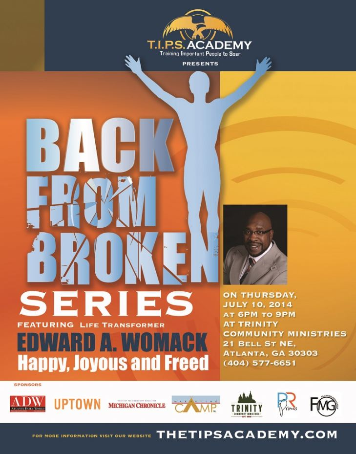Back from Broken by Edward A. Womack