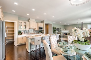 Lennar's Canton Bainbridge Kitchen & Dining Areas
