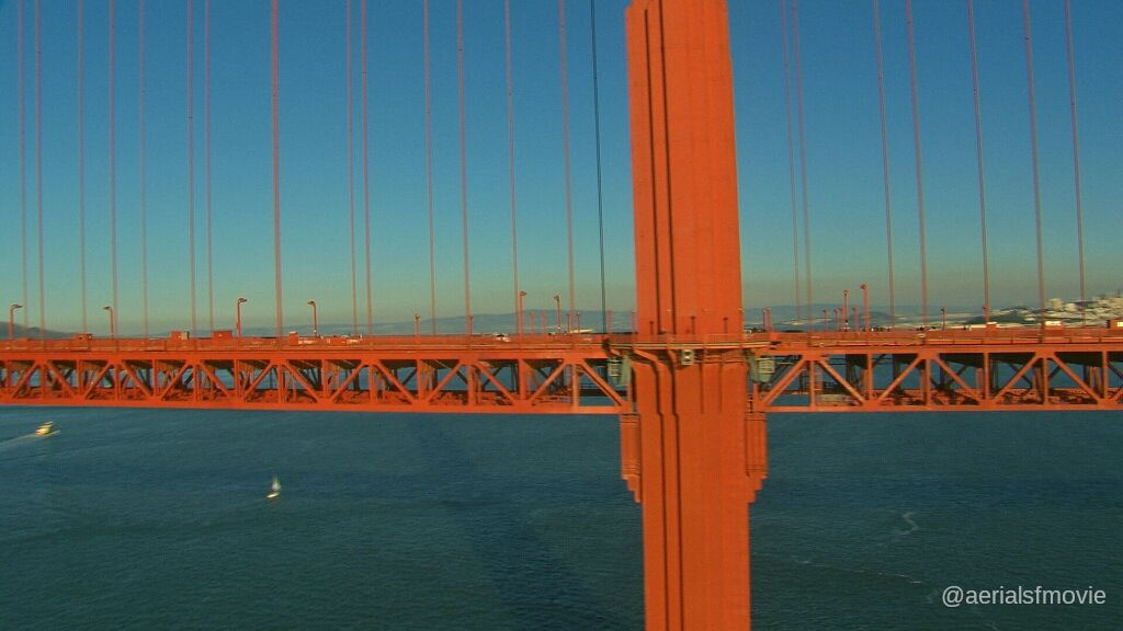 Golden Gate Bridge @hdaerials  #aerialsfmovie