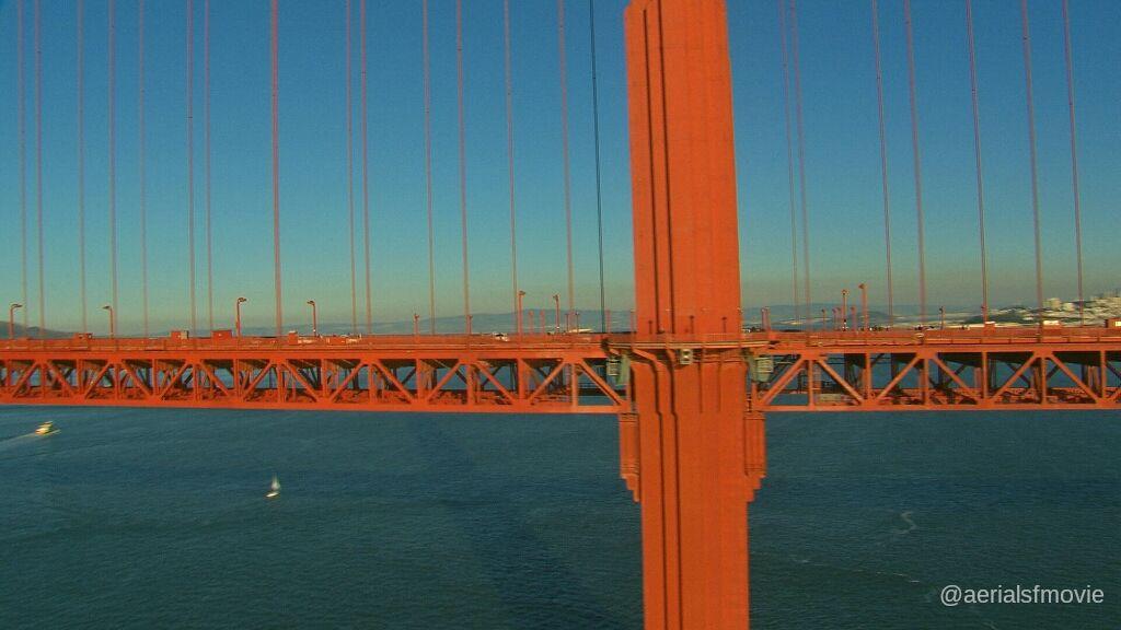 Golden Gate Bridge @hdaerials  #aerialsfmovie