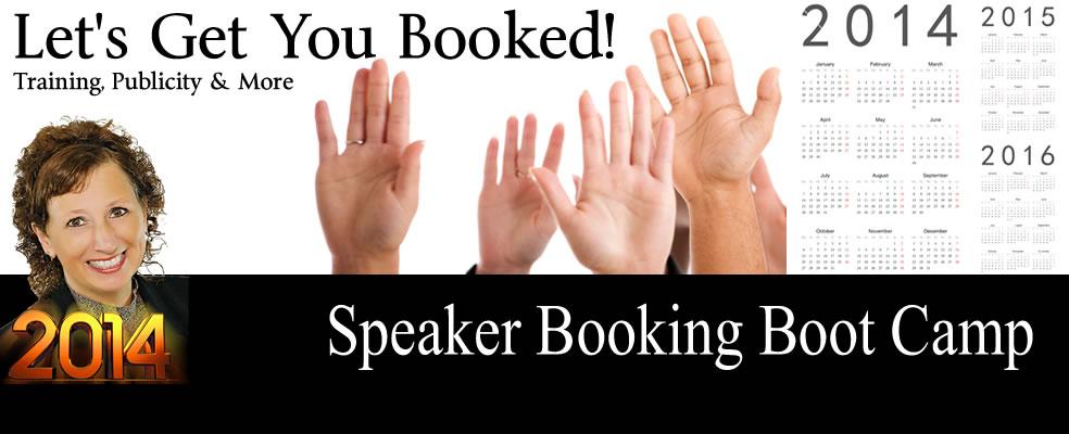Speaker Booking Boot Camp
